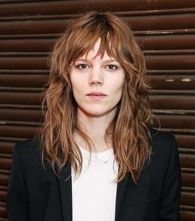 Cool-girl and model Freja Beha Erichson is the epitome of shag cut goals