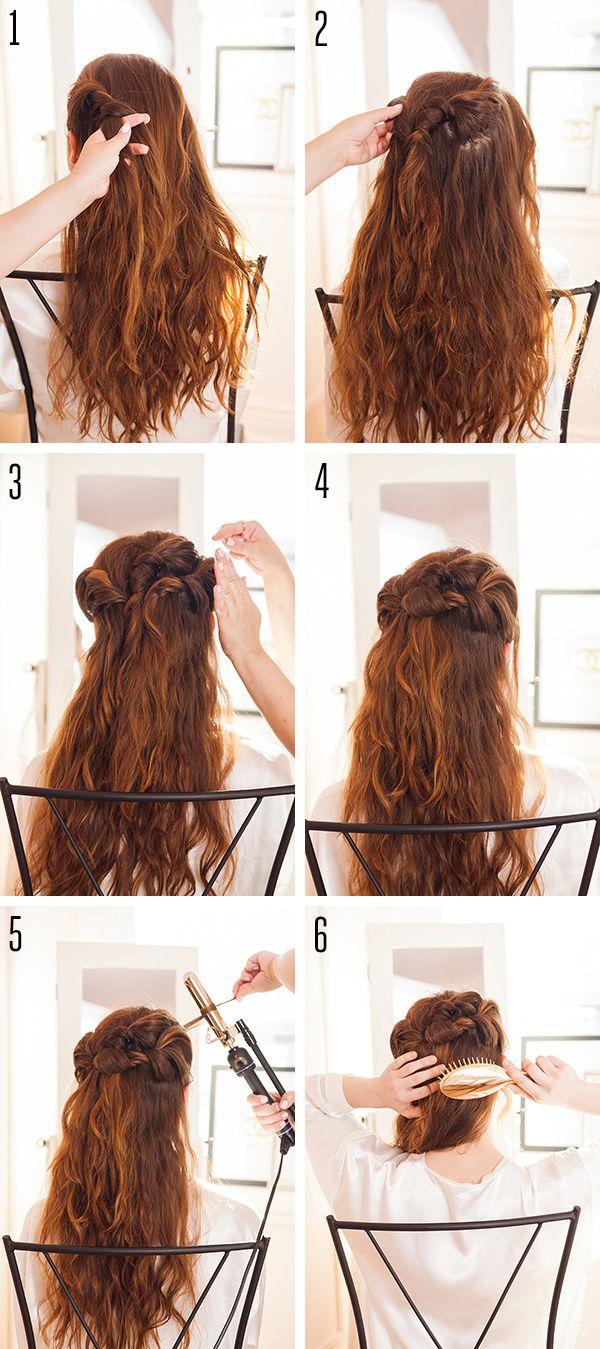 Feathery Fairy-Twist Hair Tutorial by LaurenConrad.com
