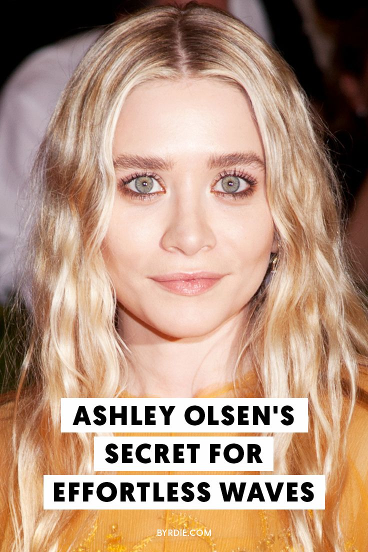 How to recreate Ashley Olsen's signature hairstyle