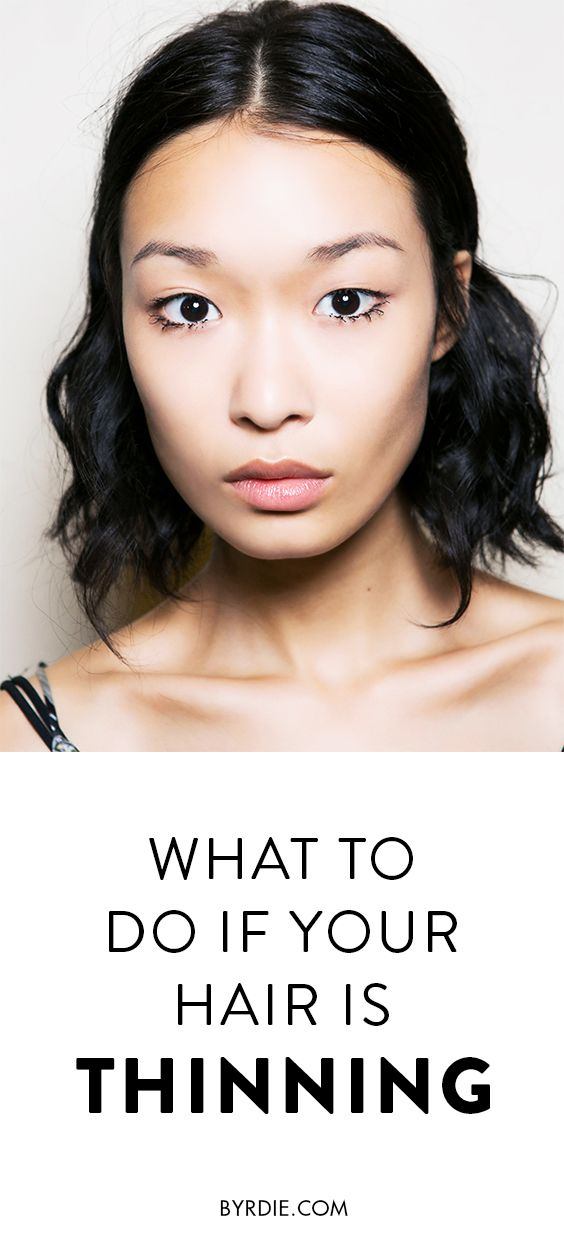 How to treat thinning hair