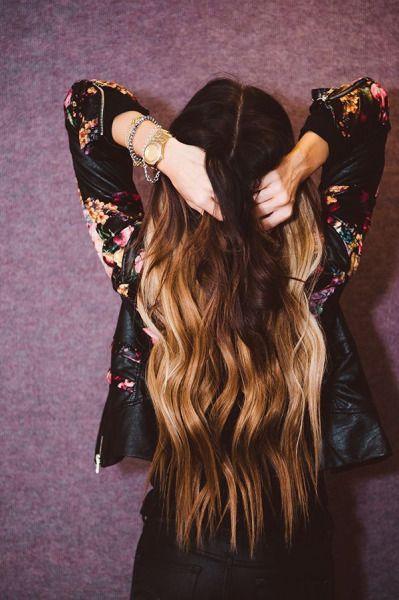 Hair, Long, Growth,