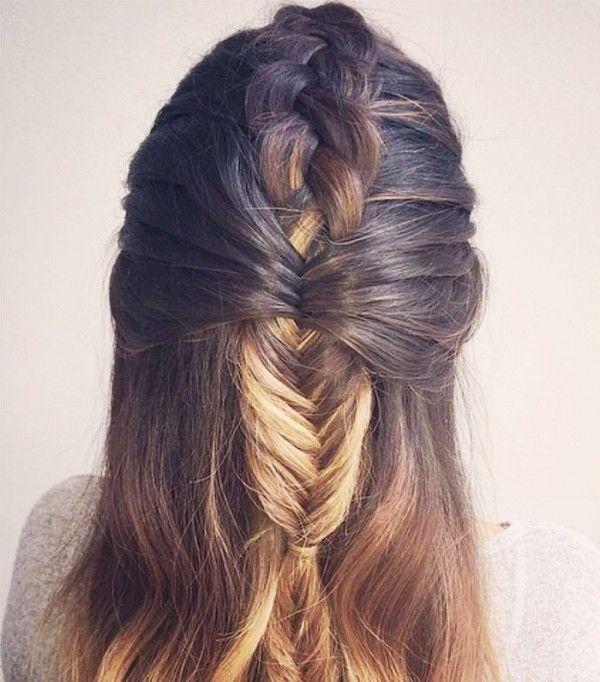 Loving this layered braid