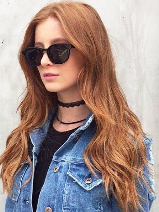 Pumpkin spice hair is one of fall's biggest hair trends. The trend features ...