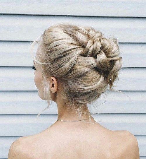 Stunning braided updo