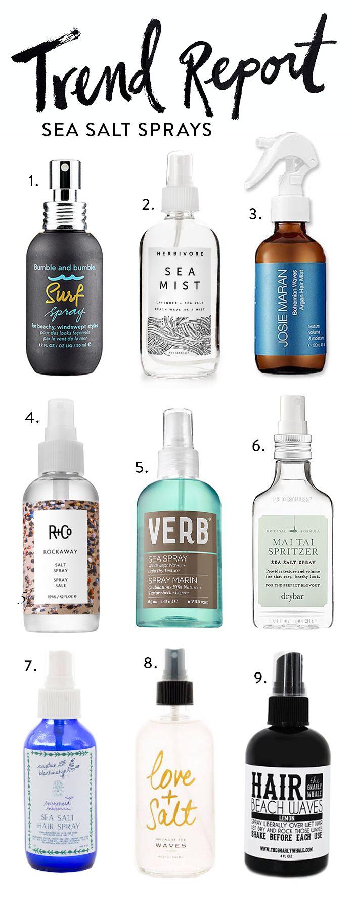 The best sea salt sprays