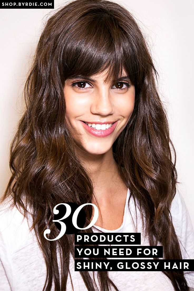 The one thing that takes your hair from good to great is shine! We've rounded ...