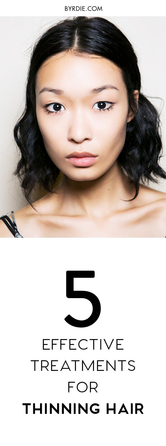 What to do with thinning hair