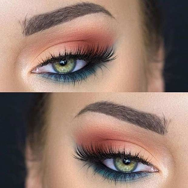 11. Fun Makeup Look for Summer It's coming up to summer and we tend to experim...