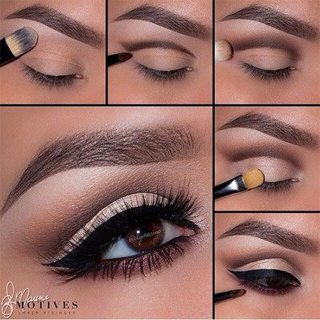 12-Easy-Step-By-Step-Natural-Eye-Make-Up-Tutorials-For-Beginners-2014-1.jpg (450...