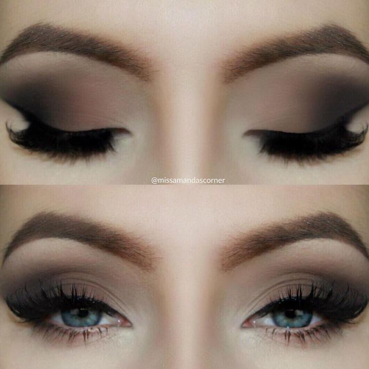Brown Matte Smokey Eye Tutorial is up on my makeuplearning.co...