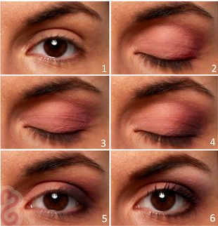 Daytime Brown Eyes Makeup Tutorial - Bring out your brown eye color with this ea...