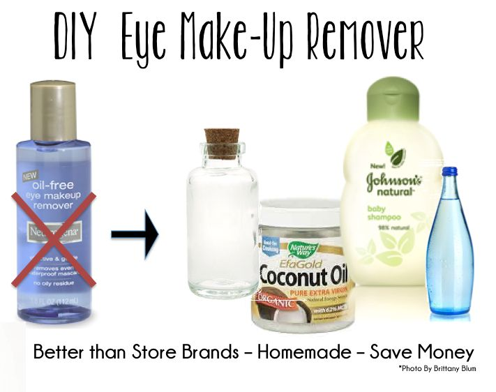 diy eye make-up remover :: better than store bought!    This is amazing, cheap &...