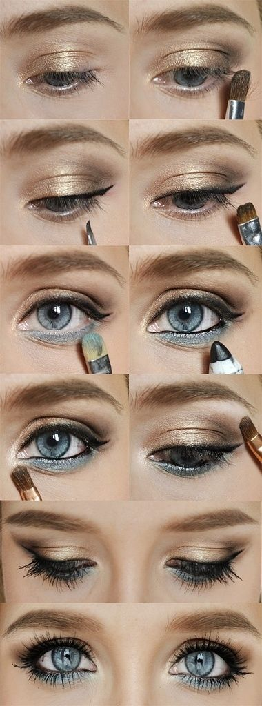 DIY Eye Makeup Pictures, Photos, and Images for Facebook, Tumblr, Pinterest, and...