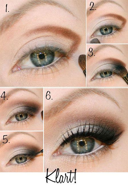 Easy Step By Step Christmas Make Up Tutorials For Beginners & Learners 2014 | Gi...