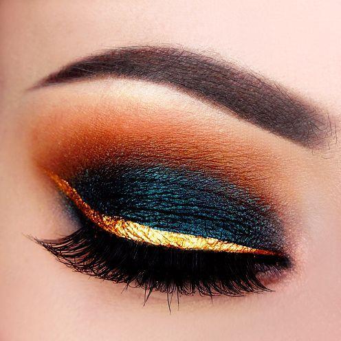 Makeup Geek Duochrome Eyeshadow in Secret Garden + Makeup Geek Eyeshadows in Bad...