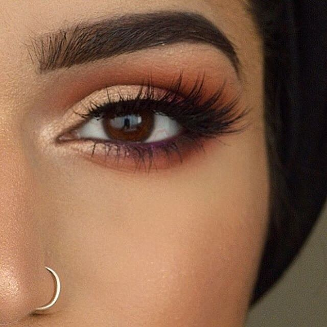 Fall tones @demureartistry  BROWS: #DipBrow pomade in Ebony and  Clear Brow Gel ...