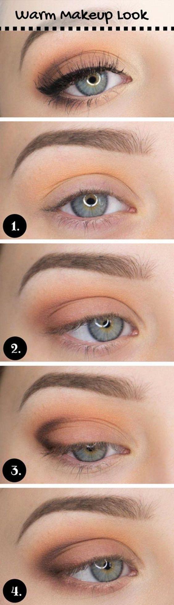 How to Do Casual Makeup Look | Everyday Makeup by Makeup Tutorials at www.makeup...