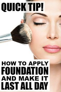 If you've ever wondered how to apply foundation and concealer so it LASTS AL...
