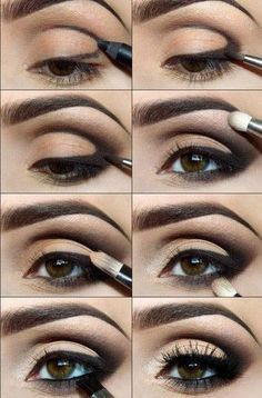 Makeup for deepset eyes - Maquillaje para ojos hundidos.