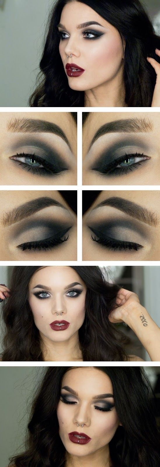 Female Vampire Eye Makeup Cat Eye Makeup