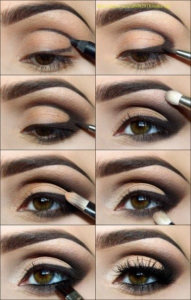 Smoky Under Eye | STYLE'N {photo source-http://www.beautylish.com/maxineczka...