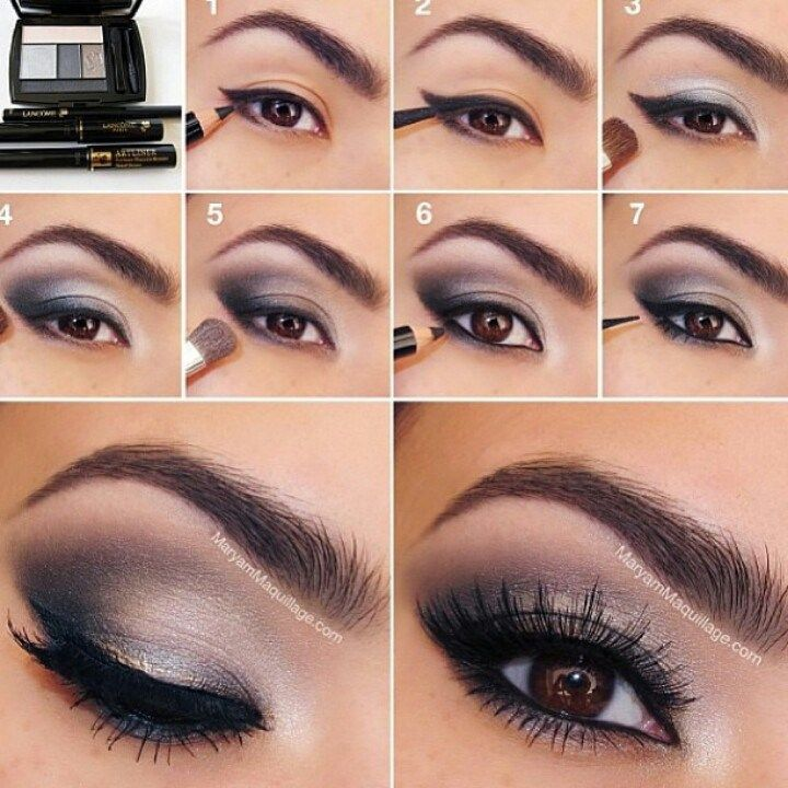 Step by Step Eye-Makeup Tutorial for You