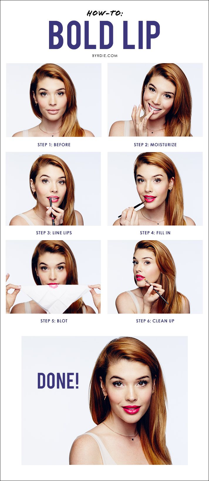 Top celebrity #makeup artist Lauren Andersen demonstrates a step-by-step #tutori...