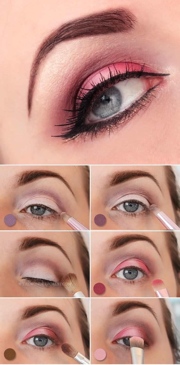 Try this dramatic and flirty pink Valentine's day makeup tutorial for a more...