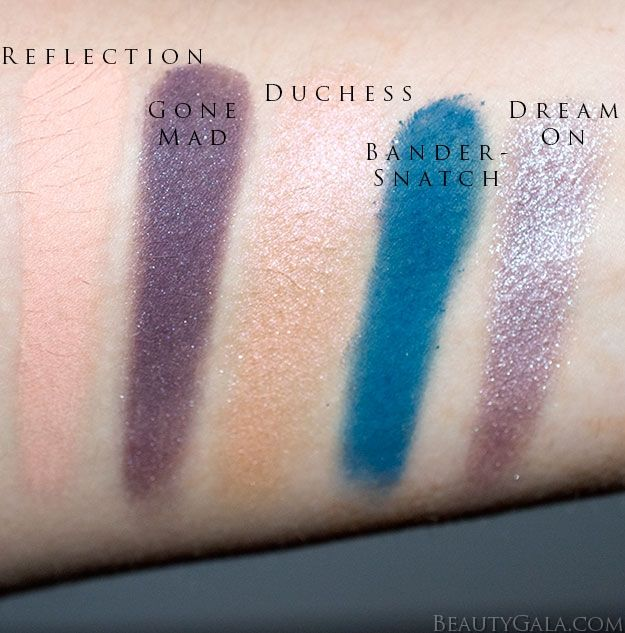 "Urban Decay ""Alice Through The Looking Glass"" Eyeshadow Palette Swatches & R..."