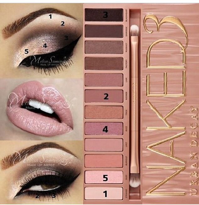 Urban Decay Naked 3 palette Sold @ Sephora