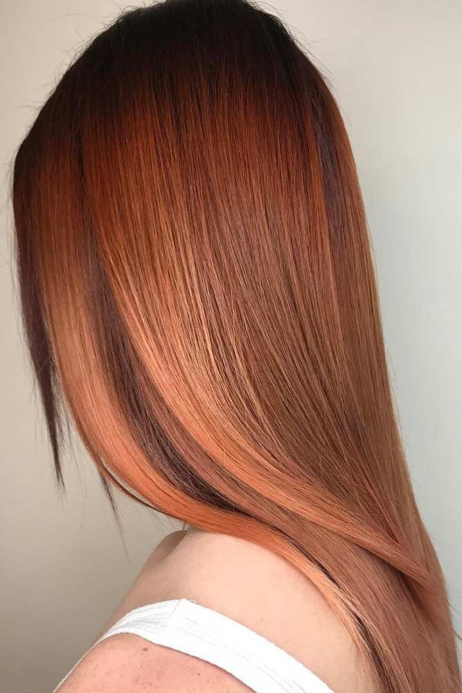 Check out the most complimenting and popular red hair color samples to get ready...