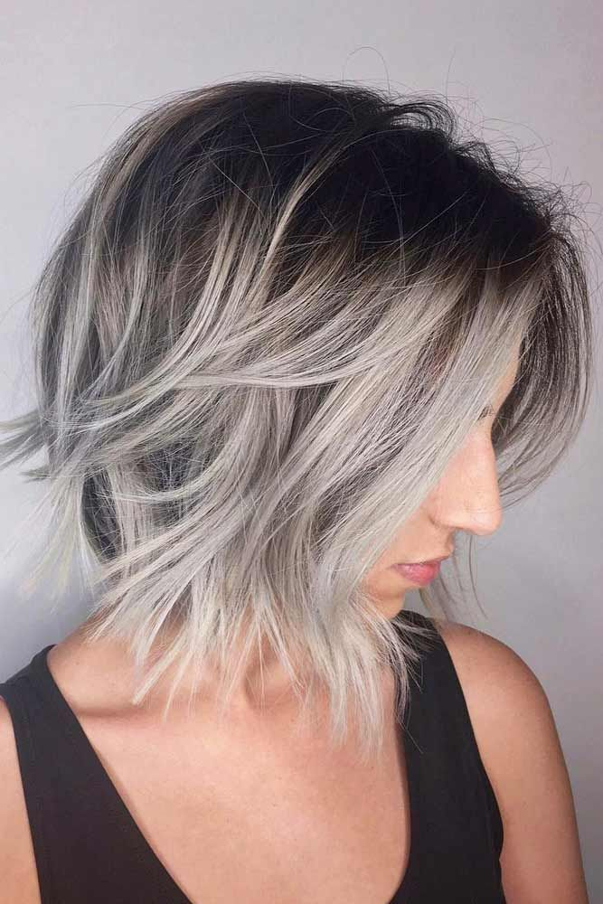 Are you looking for the most flattering short grey hair color ideas and styles? ...