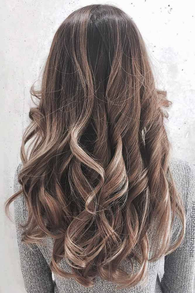 Ash brown hair colors, with their smoky and cool green, blue, and grey undertone...