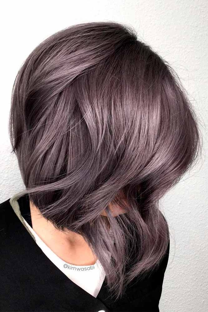 Dark purple hair is quite bold, and that is a fact. But if to compare dark purpl...