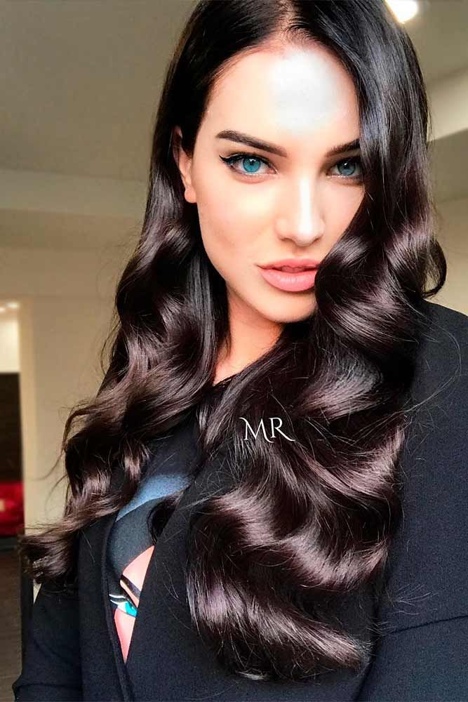 A brown hair color is extremely underappreciated. There are so many variations o...