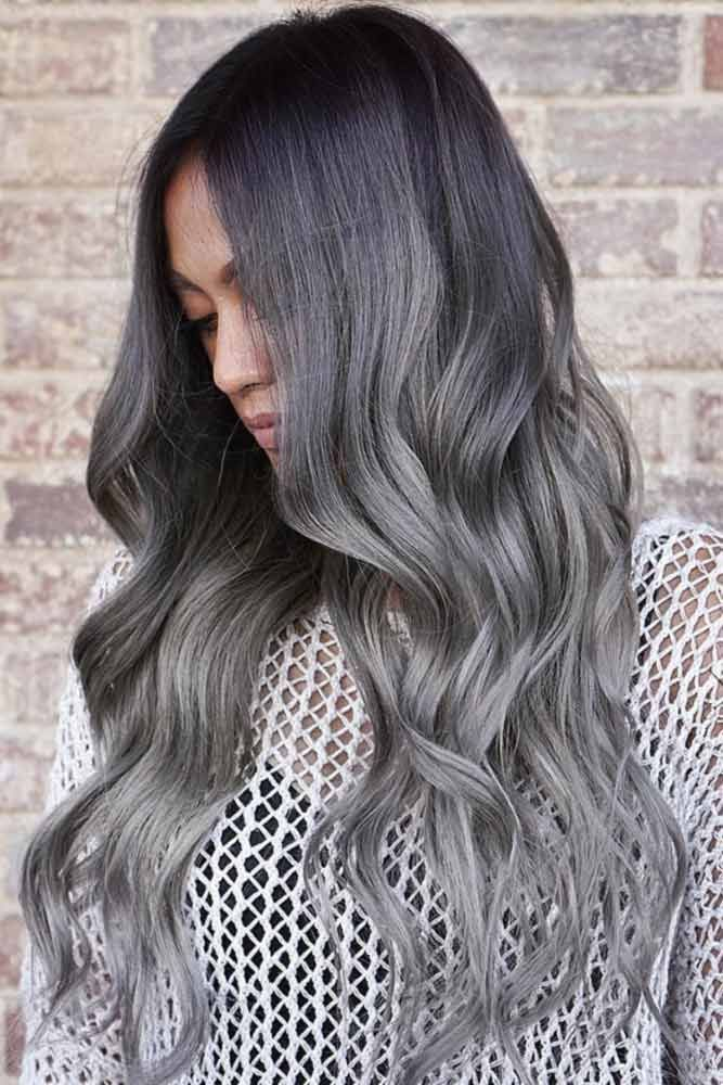 Grey ombre hair is one of the most influential recent color trends. Pick the one...