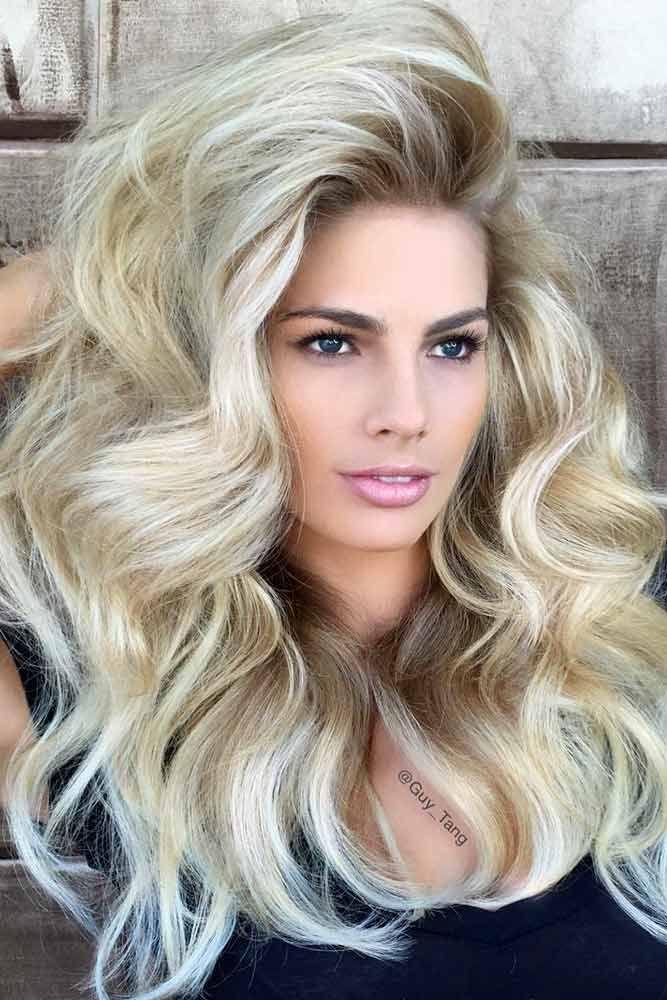 Skin Tone Is The Key #blondehair #blondecolor #longhair #hairstyles #blueeyes ...