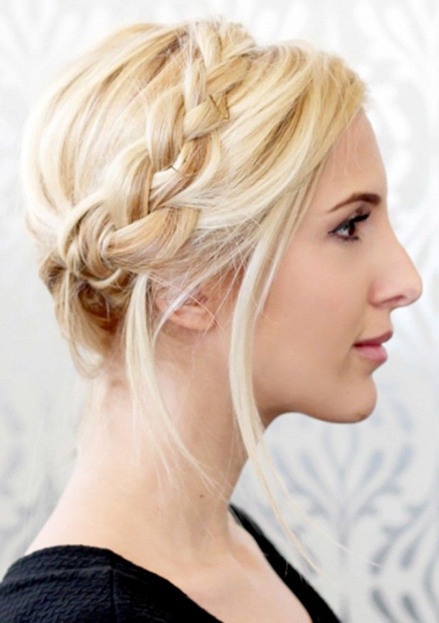 1.Part your hair in the middle, then divide it into two even sections 2.Brai...
