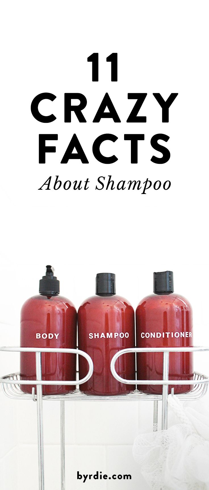 11 true facts about shampoo
