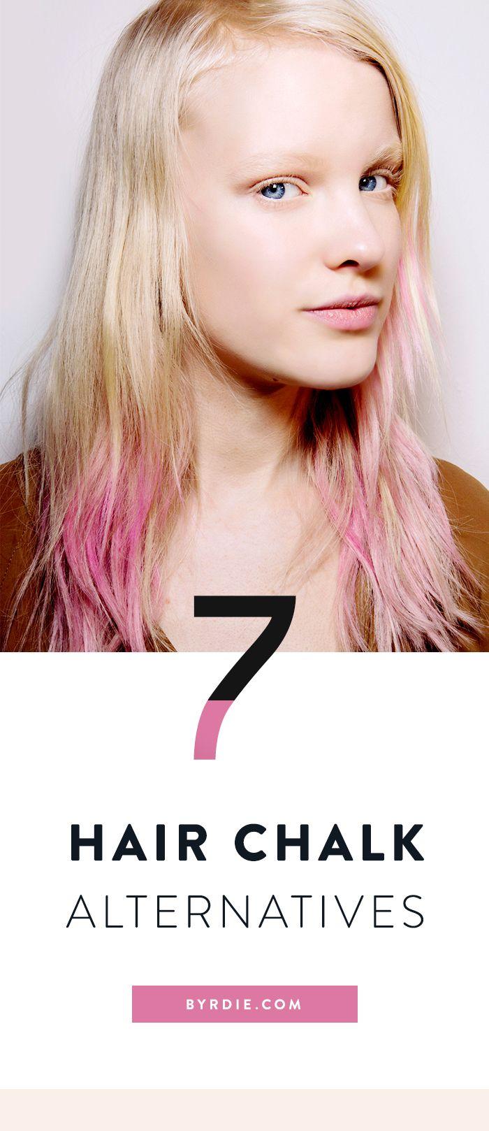 7 of the best hair chalk alternatives for festival season