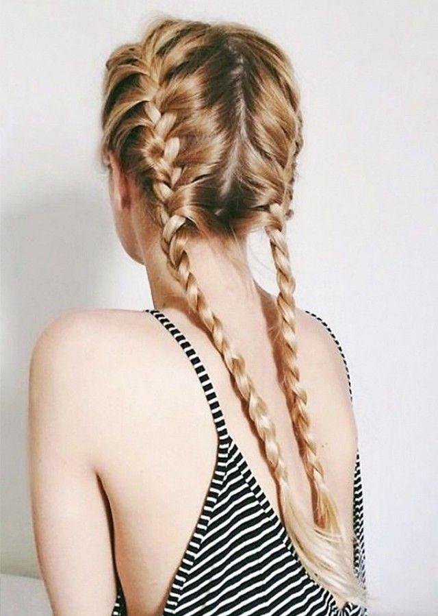Beautiful french braids