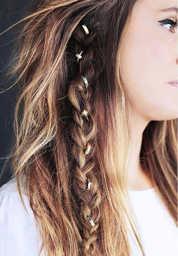 Blinged-out braid
