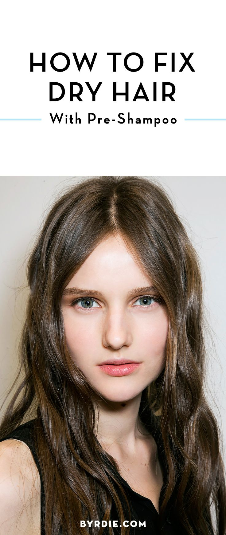 How pre-shampoo can fix your dry hair problem