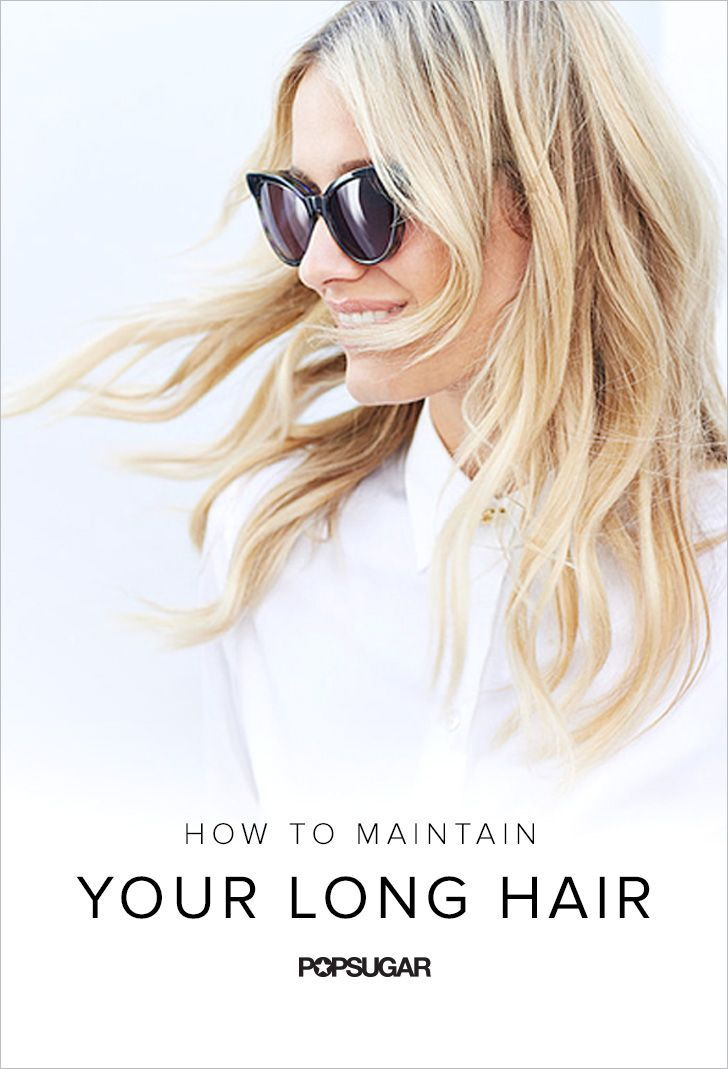 How to maintain long hair