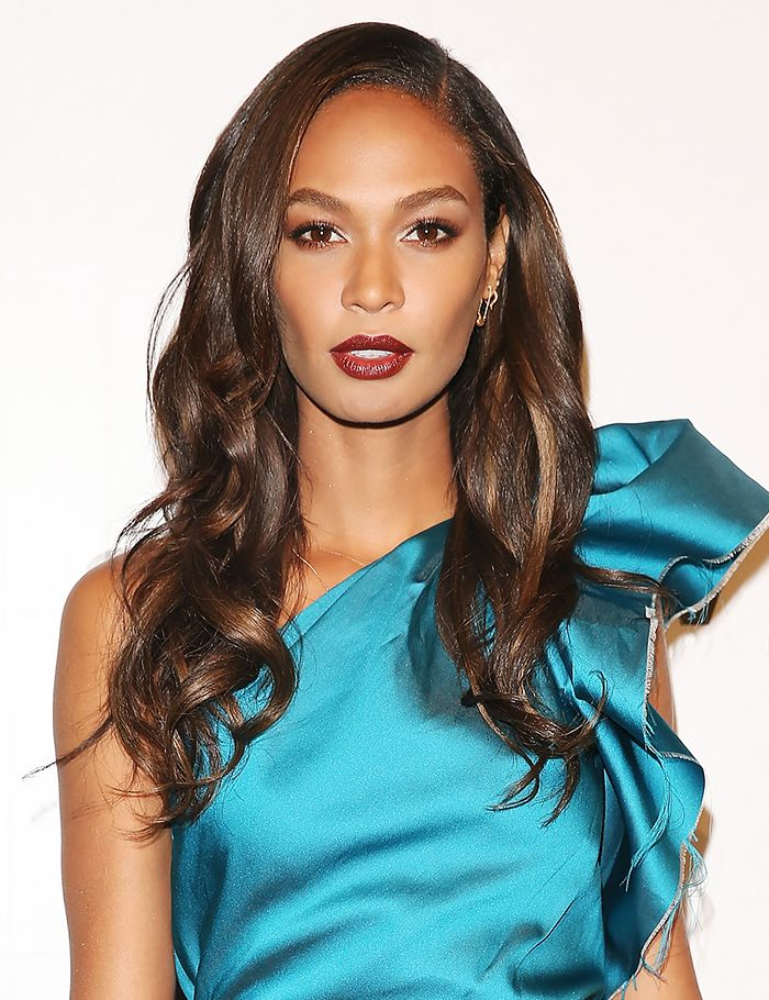 Joan Smalls's glamour waves