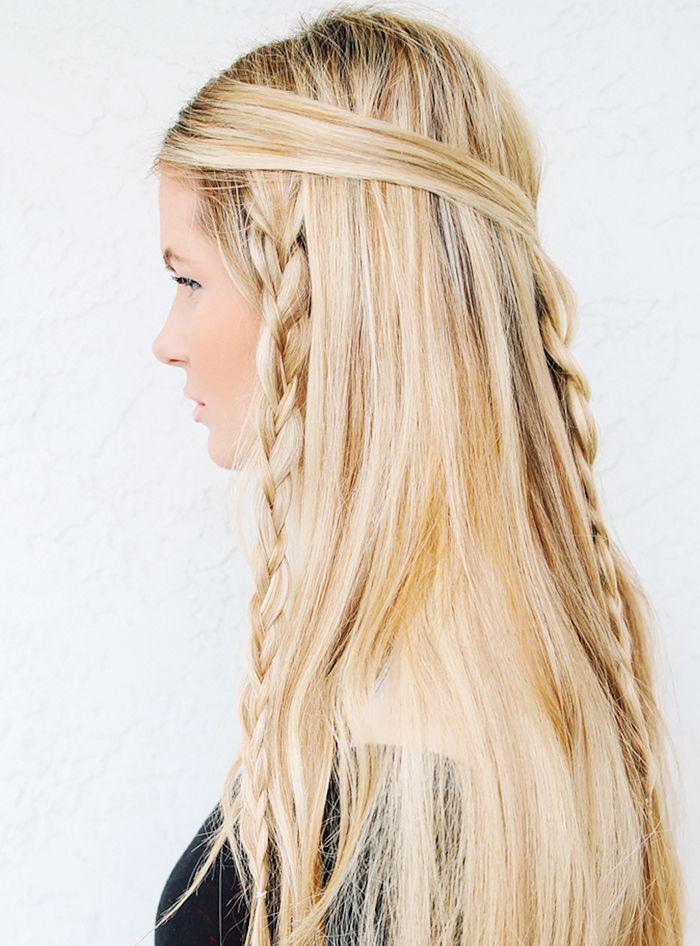 Long hair + braids