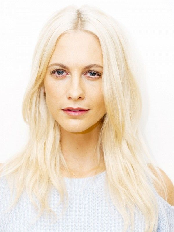 Poppy Delevingne shows how to do platinum blonde right.