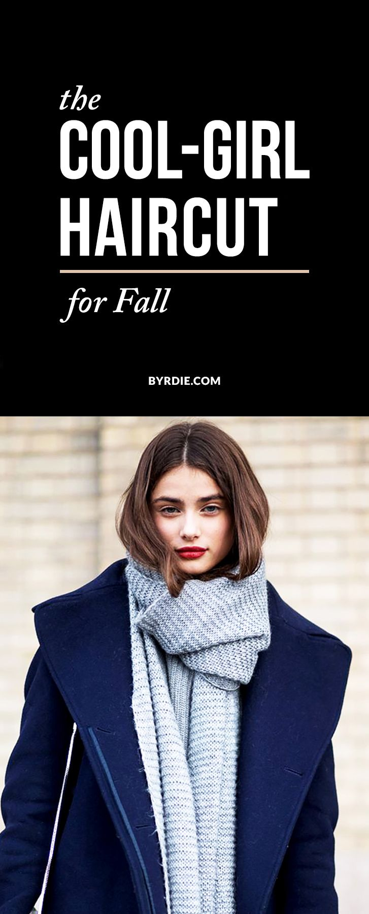 The cool-girl haircut you're about to see everywhere this fall