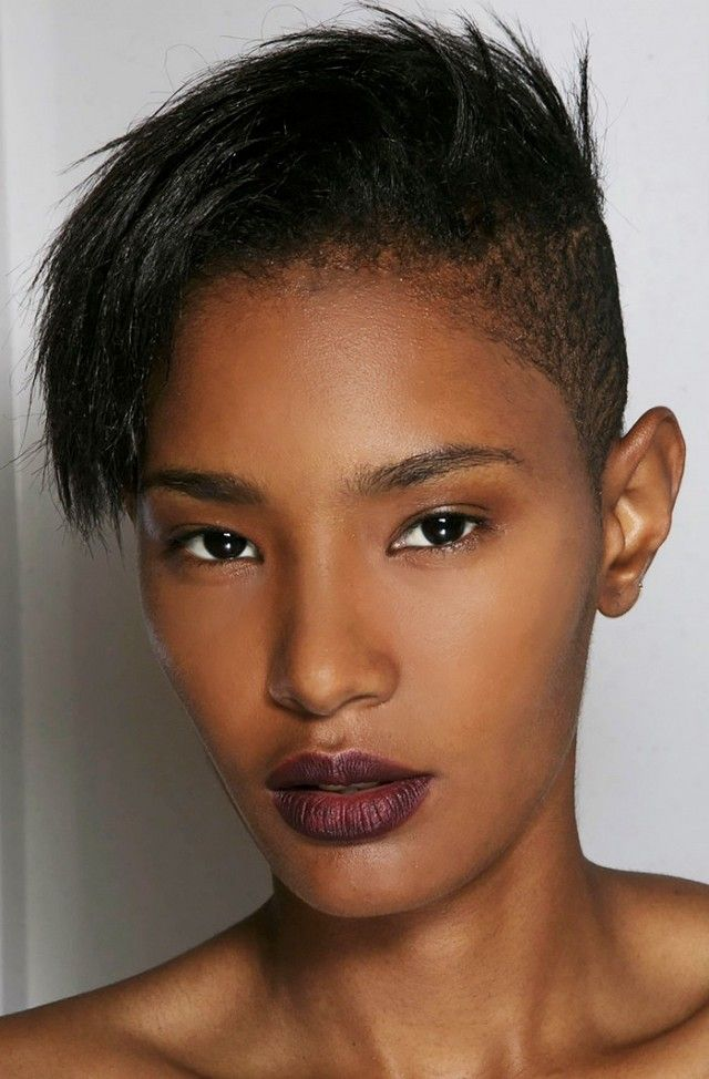 This undercut can go messy and edgy or sleek and professsional and it's perf...