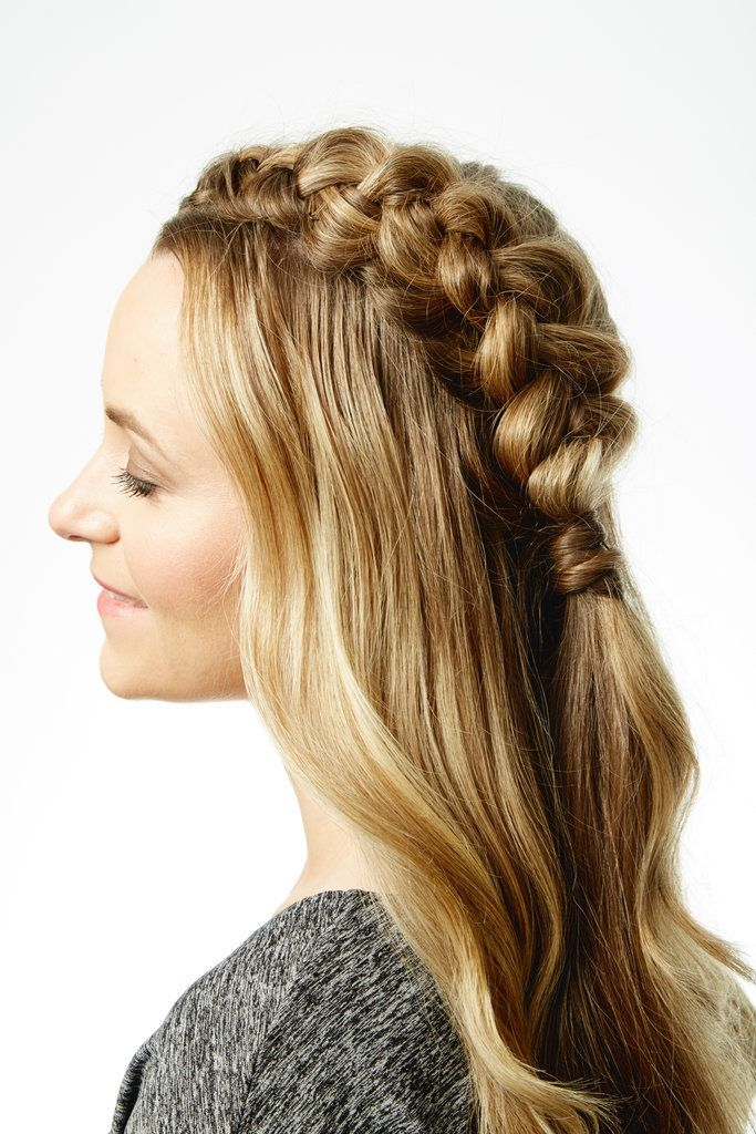 Voluminous, oversized braid